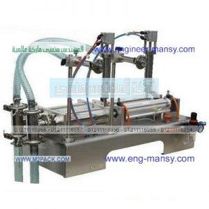 ماكينة تعبئة السوائل خفيفة اللزجة اي لزوجة الزيوت